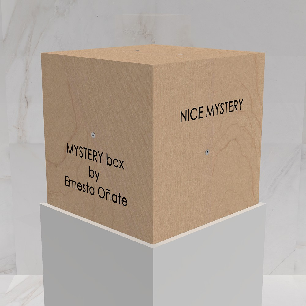 MYSTERY box by Ernesto Oñate